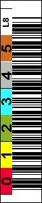 LTO 1700-008 barcode label