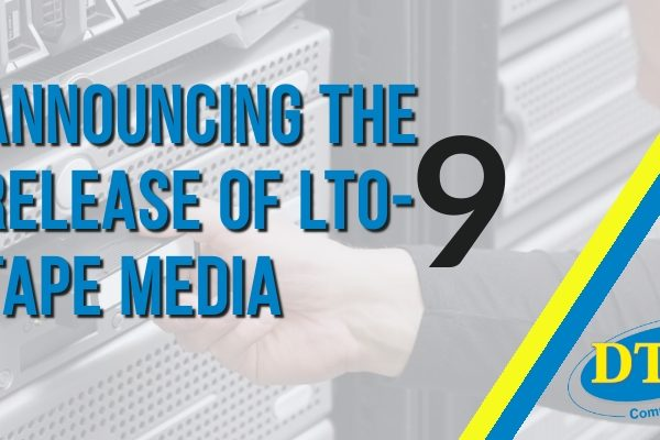 Announcing the Release of LTO-9 Tape Media