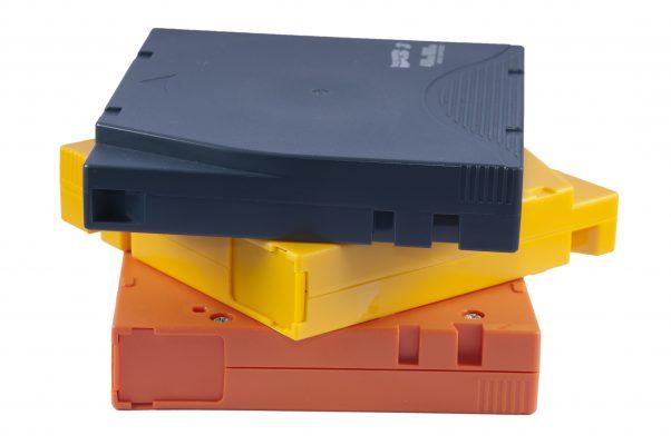 Blue, Yellow and Orange LTO Caridges